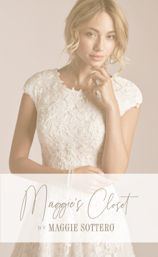 Maggies Closet Maggie Sottero Courtney Leigh Hoover
