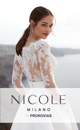 Taft En Tule Hawaii Nicole Milano Pronovias Trouwjurken Normal